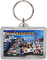 San Francisco Keychain, Photo Collage
