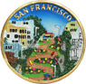 San Francisco Lombard Street Fridge Magnet