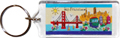 San Francisco Collage Acrylic Key Chain
