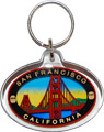 San Francisco Golden Gate Bridge Key Chain