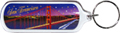 San Francisco Golden Gate Bridge at Night Acrylic Key Chain