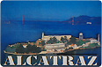 San Francisco Alcatraz Photo Magnet