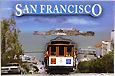 San Francisco Hyde Street Photo Magnet