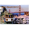 San Francisco Photo Magnets, Collage Art
