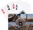 San Francisco Collage Playing Cards