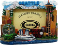 Seattle City - Picture Frame with Mini Snowglobe