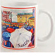 Seattle Market Umbrellas 11oz Mug