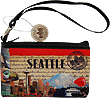 Seattle Themed Wristlet