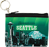 Seattle Small Zipped Purse, the Emerald City