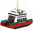 Seattle Ornament, Ferryboat with Cars