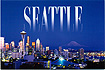 Seattle, Washington Scenic Postcard
