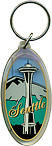 Seattle Space Needle Acrylic Key Chain