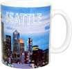 Seattle Night Photo Mug