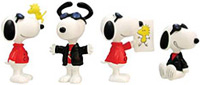 Joe Cool 4pc Mini Figurines, 3 H