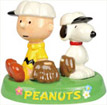 Charlie & Snoopy Baseball in a Tray, S&P Shakers