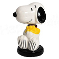 Snoopy & Woodstock Mini Bobble Figurine, 2.25 H