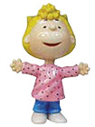 Sally Figurine from Peanuts Characters, 3-3/4 H