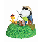 Snoopy Musical Figurine - Camp Out, 4H