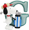 Snoopy Figurine - Letter G