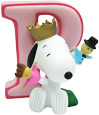 Snoopy Figurine - Letter P