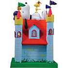 Snoopy Figurine - A Dog's House In His Castle, 5-3/4H