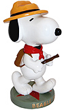 Snoopy Beagle Scout Large Figurine, 12H