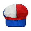 USA Patriotic Newsboy Hat for Women