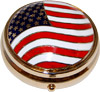 USA Flag Patriotic Pill Case