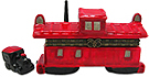 Historical Train Caboose, Trinket Box
