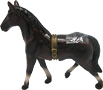 Wild West Horse Figurine