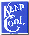 Keep Cool  Fridge Magnet, 2-1/4 L