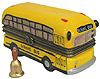 School Bus Miniature Trinket Box