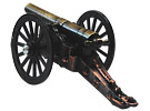 Civil War Cannon Pencil Sharpener, 4L