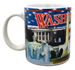 Washington, D.C Mug with Icons of the Nation's Capital