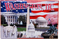 Washington, D.C. Collage Postcard Magnet