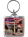 Washington, D.C. Collage Key Chain