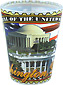 Washington, D.C. Postal Stamp Shot Glass