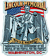 Lincoln Statue of Lincoln Memorial - Fridge Magnet